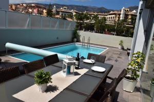 A balcony or terrace at Villa El Duque