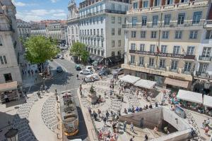 A bird's-eye view of Chiado Square Apartments | Lisbon Best Apartments