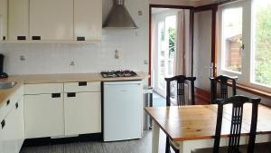 A kitchen or kitchenette at Holiday Home Duinhorst