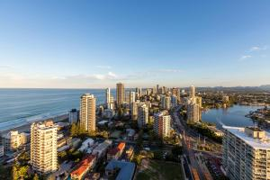 A bird's-eye view of Artique Surfers Paradise - Official