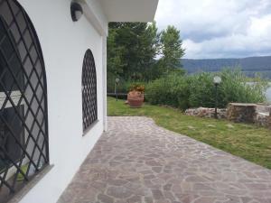 Facaden eller indgangen til La Casa di Vico