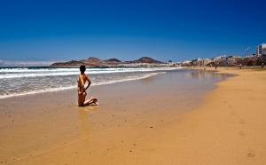 חוף בדירה או בסביבה