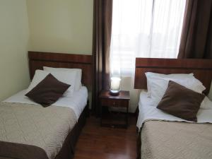 Una habitación en Apartments Bellas Artes