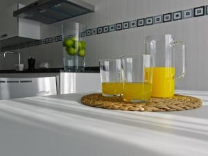 Kjøkken eller kjøkkenkrok på Apartamentos Turísticos Taranco 5