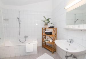 A bathroom at Schmitten 62