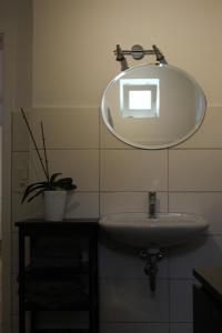 Ein Badezimmer in der Unterkunft Kleines Schmuckstück