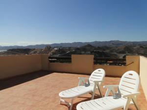 Un balcón o terraza de Villa Marina Aguilas Apt. AD4