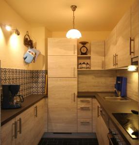 Kuchyň nebo kuchyňský kout v ubytování Ferienhaus Maggy by Schladming-Appartements