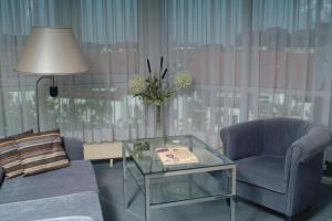 A seating area at Hotel Arkadia