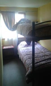 Litera o literas de una habitación en Apart Oriana Puerto Montt