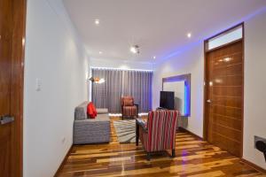 Zona de estar de Polo Apartaments
