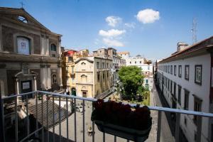 A balcony or terrace at Largo Donnaregina Home