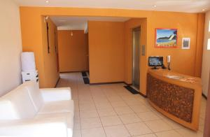 The lobby or reception area at Picasso Flat