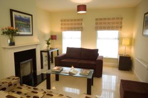 A seating area at Kenmare Bay Hotel Holiday Homes