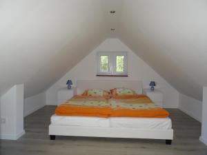 Ein Zimmer in der Unterkunft Schwedenhaus im Grünen