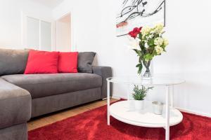 אזור ישיבה ב-City Apartment Friedrichring