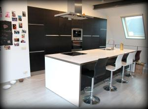A kitchen or kitchenette at Bastion Apartment