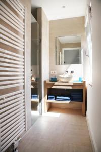 Ein Badezimmer in der Unterkunft Blue Ocean