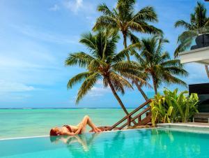 The swimming pool at or near Crystal Blue Lagoon Villas