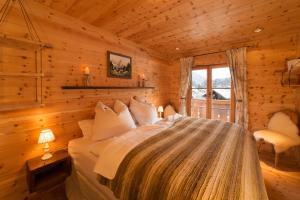 Ein Zimmer in der Unterkunft Mein Chalet