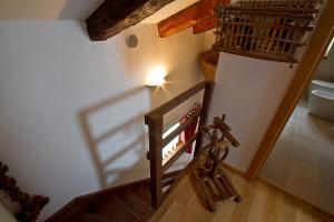 Letto o letti a castello in una camera di Casa Cebajova