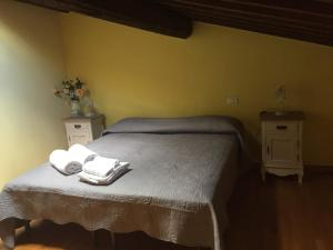 A bed or beds in a room at Cattaneo 138