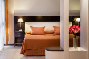 Un lugar para sentarse en Montañas Azules Apart Hotel