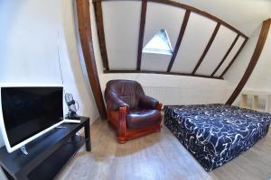 Posezení v ubytování Apartman Bed