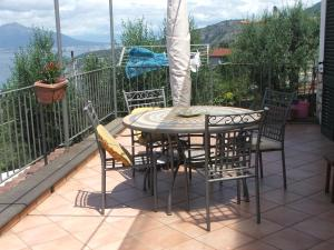 Patio o area all'aperto di Villetta Surriento