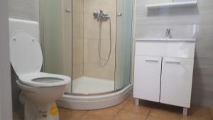A bathroom at Apartments Gajac 39