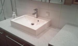 Ein Badezimmer in der Unterkunft New Danube Flat