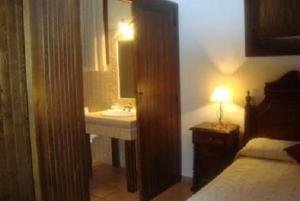 A bathroom at Casa Rural Sierra Alta