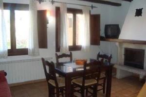 A kitchen or kitchenette at Casa Rural Sierra Alta
