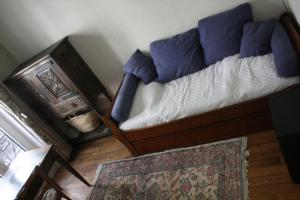 A bed or beds in a room at Appartement Petroff