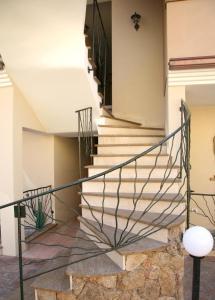 A balcony or terrace at Sogno di Rena
