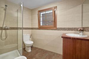 Kylpyhuone majoituspaikassa Ca la Lola