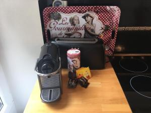 Принадлежности для чая и кофе в Le Petit Montmartre