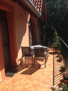 A porch or other outdoor area at Beata apartment