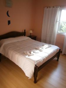Una habitación de Chalet En Country Chumamaya