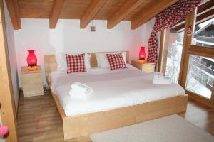 Ein Zimmer in der Unterkunft Chalet Maretse