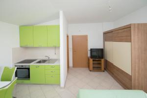 A kitchen or kitchenette at Studio Apartment Tesija