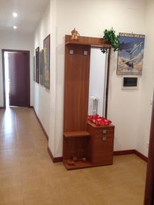 Een TV en/of entertainmentcenter bij Roma Giovane