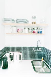 Una cocina o zona de cocina en Innkt