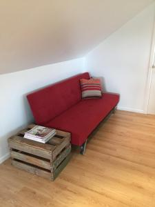 A seating area at Apartment retreat Warkworth