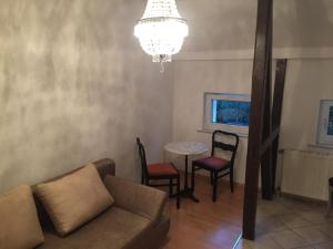 The lounge or bar area at Apartments Chemnitz Central Elbsandstein