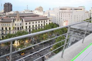 A balcony or terrace at PG3 - Ático en Paseo de Gracia