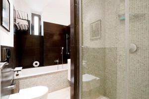A bathroom at Quiet Trastevere Roma
