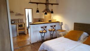 Virtuvė arba virtuvėlė apgyvendinimo įstaigoje Casa Corsa