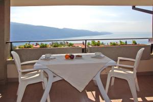 Patio lub wspólna przestrzeń na świeżym powietrzu w obiekcie Hotel Residence La Rotonda