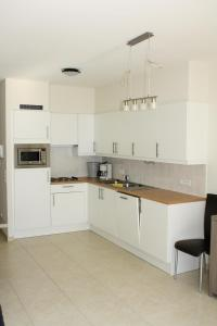A kitchen or kitchenette at Appaanzee De Panne